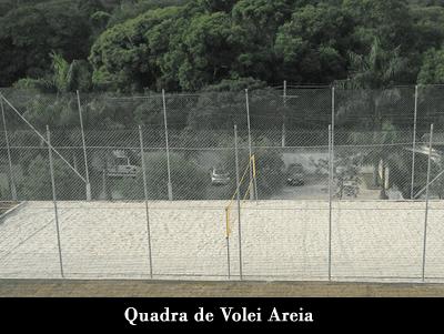 Quadra de Volêi de areia Clínica de Recuperação Ágape