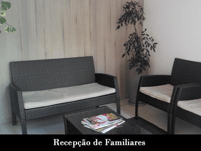 Recepção de Familiares Clínica de Recuperação Ágape